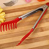 Best Tongs For Pastas - Katoot@ Spaghetti Tongs Noodles Pasta Clip Plastic Barbecue Review