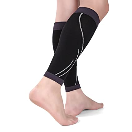 3821b993c0 Day Tip Calf Compression Sleeve - Calf Brace - Leg Compression Socks for  Helps Shin Splint