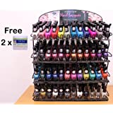 48 Colors *NEW* Rainbow MATTE Polish Lacquer Set + 240 Fran Wilson Nail Tees (FREE!) - Mighty Gadget Kleancolor Collection 2013 Matte D