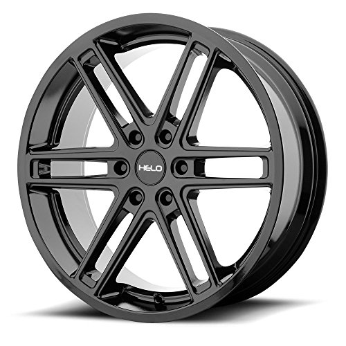 Helo HE908 22x9 6x120 +30mm Gloss Black Wheel Rim