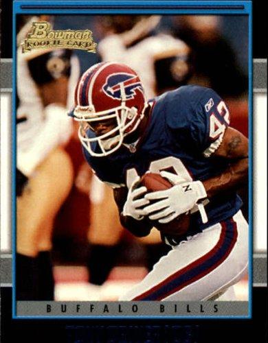 2001 Bowman #261 Tony Driver RC (2001 Bowman Football)