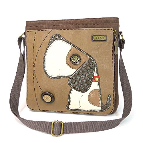 (Chala Deluxe Messenger Bag (Toffy Dog))