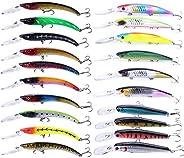 Fishing Lure Kit Set 347pcs Fishing Lure Baits/Tackle Hard Soft Plastic Fishing Lure VIB Frog Lures Spoonbait
