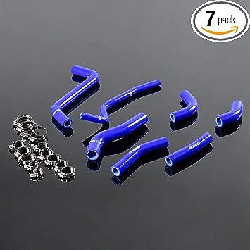 For KAWASAKI KXF450 KX450F 2009-2014 10 11 12 13 Silicone Radiator Y Hose BLACK