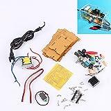 Generic US Plug 110V DIY LM317 Adjustable Voltage Power Supply Board Kit With Case