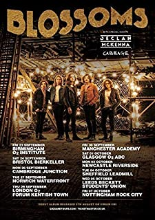 Blossoms Settembre/Ottobre 2016 UK Tour Poster Stampa Band Stone Roses 001 (A5-A4-A3) - A5