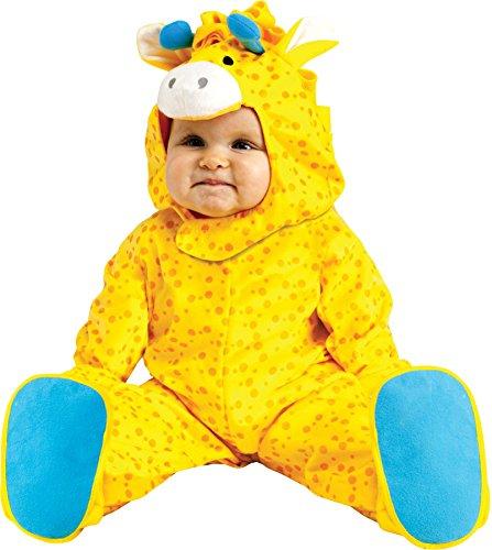Scary Giraffe Costume (UHC Baby's Safari Giraffe Outfit Fancy Dress Infant Child Halloween Costume, S (6-12M))
