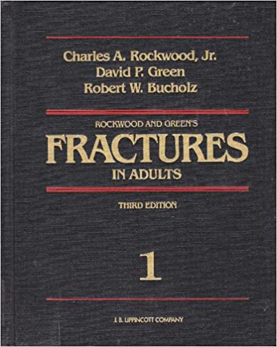 Rockwood And Greens Fractures In Adults Pdf