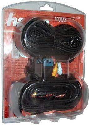 PC Ordenador de audio + Video Kit en TV Televisor SVHS + Cable ...