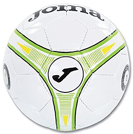 Joma Ropa de Deporte Balon Reto Sala 64 cm T4 Blanco-Verde Soccer ...