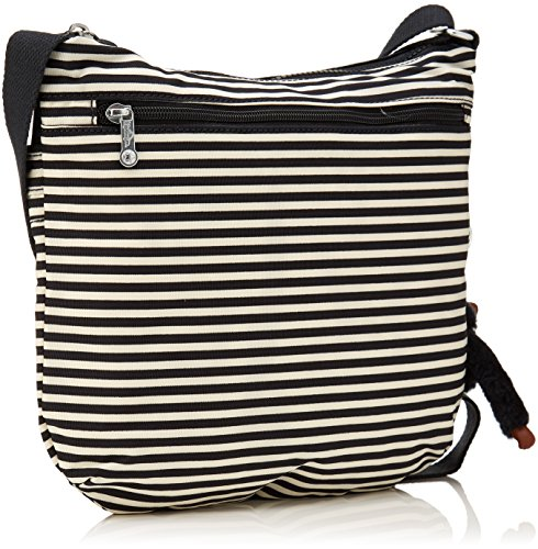 B Multicolour Cross body Stripy Arto Women's Kipling Bag Marine xaqzvWT