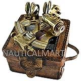Brass Nautical Brass Sextant in Gift Case By NauticalMart