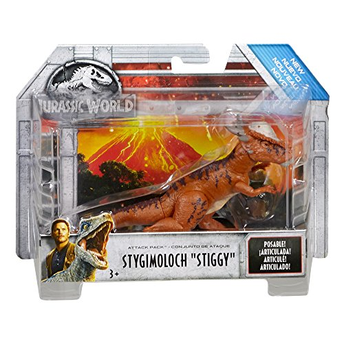 Jurassic World Attack Pack Stygimoloch Stiggy Figure