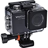 Vivitar DVR794HD 1080p HD Wi-Fi Waterproof Action Video Camera Camcorder (Black) with Remote, Helmet & Bike Mounts