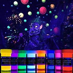 2-IN-1 Glow-in-the-Dark Paint - Neon Glo...