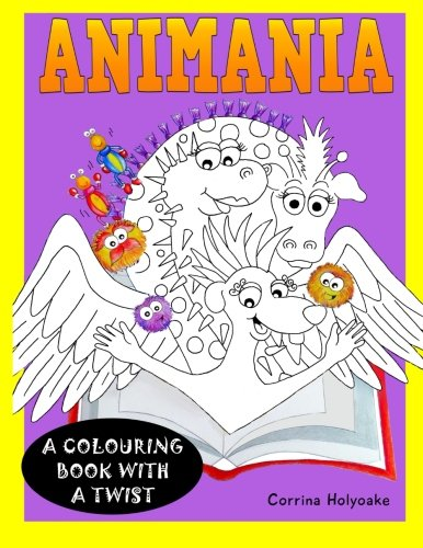 Animania: Coloring book