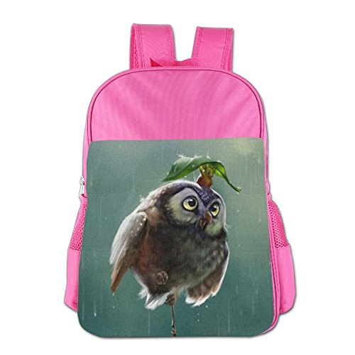 Price comparison product image Casual Lightweight Owl And Mouse School Backpacks Cut School Bag Daypack Book Bag