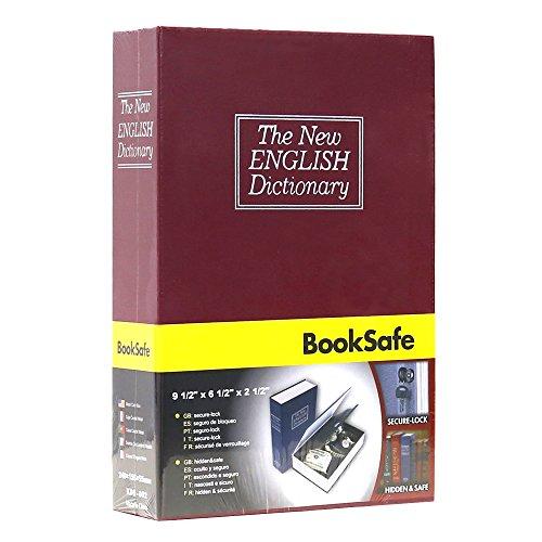 VIVOHOME Dictionary Diversion Secret Hidden Book Safe with Key Lock