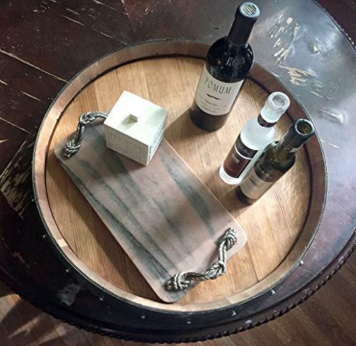 Kitchen MGP Wine Barrel Head Lazy Susan lazy susans