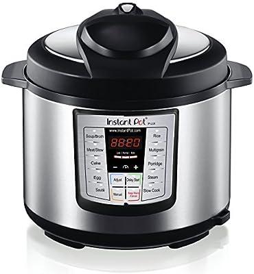 Instant Pot IP-LUX60 6-in-1 Programmable Pressure Cooker, 6.33-Quart 1000-Watt