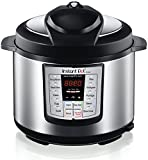 #6: Instant Pot IP-LUX60 V3 Programmable Electric Pressure Cooker, 6Qt, 1000W (updated model)
