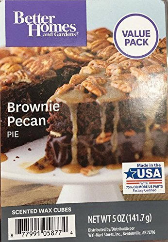 Better Homes and Gardens Brownie Pecan Pie Value Pack scented wax cubes 5.0 OZ