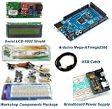 Mega2560 Starter Package Kits With LCD Shield Module -for Arduino Compatible