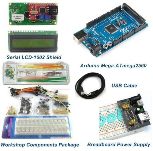 Mega2560 Starter Package Kits With LCD Shield Module -for Arduino Compatible by Aigh Auality shop