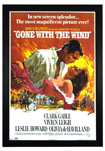 Gone with the Wind, Clark Gable Vivien Leigh Classic Film 24