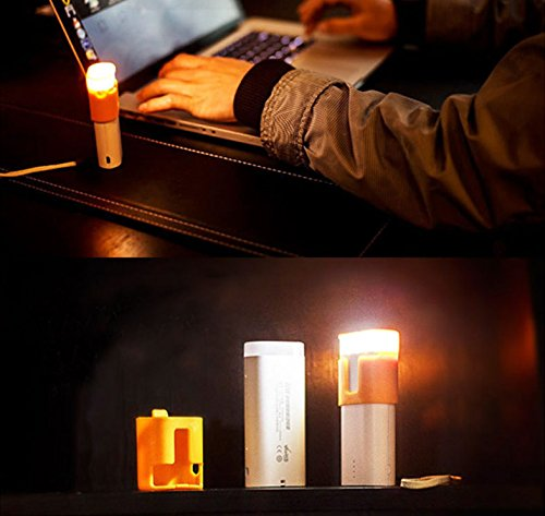Joyiqi 6 in 1 Camping Lantern, Emergency LED Lamp, Table Led Lamp, Reading Led Lamp, Outdoor Travel Flashlight and Rechargeable Smart Portable Charger