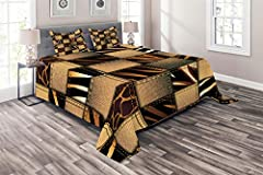 """Makeover your bedrooms every season with our bedspread sets! SET INCLUDES: 1 Queen size quilted bedspread (88"""" W X 88"""" L) and 2 Pillow Shams (30"""" W X 20"""" L). SQUARE pattern quilted design. A luxurious product for homes, dorm rooms, hotels, gu..."""
