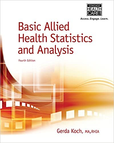 Amazon basic allied health statistics and analysis spiral basic allied health statistics and analysis spiral bound version 4th edition kindle edition fandeluxe Gallery