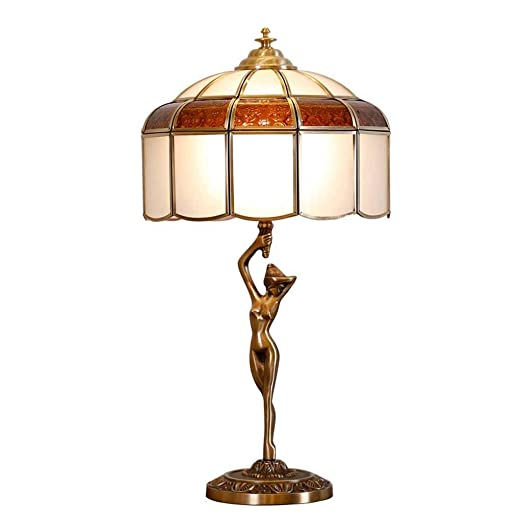 Lámpara de Tiffany de Estatua la libertad escritorio POXZiuk