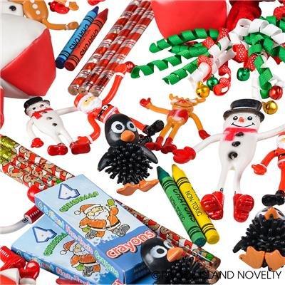 Rhode Island Novelty Christmas Assortment Toys (50 Piece) -