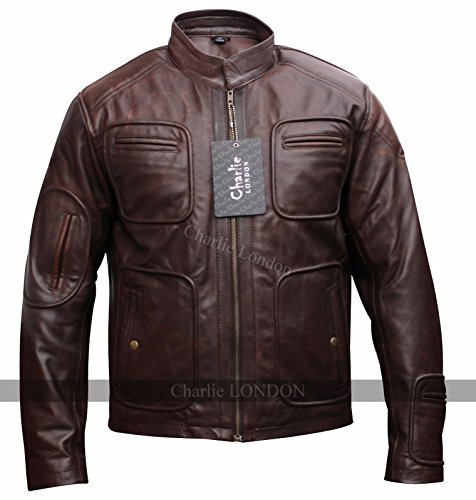 Jacket Vintage Mens Charlie London Kirk Trek By Motorcycle Star Leather wFq5YqCAOx