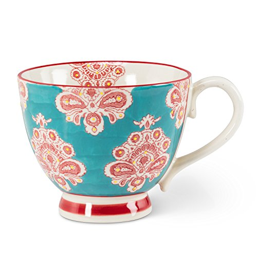 Abbott Collection 27-Chintz/Cup 09 Handled - Pedestal Mug Cup