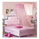 Romantische Spitze Bett-Überdachung Frauen Mädchen Prinzessin Moskitonetze Indoor Netz Vorhang...