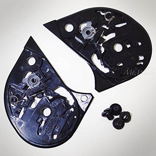 - HJC HJ-07 Shield Gear Plate Set for CL-14 CL-MAX FG-14 AC-11 Helmet Visor