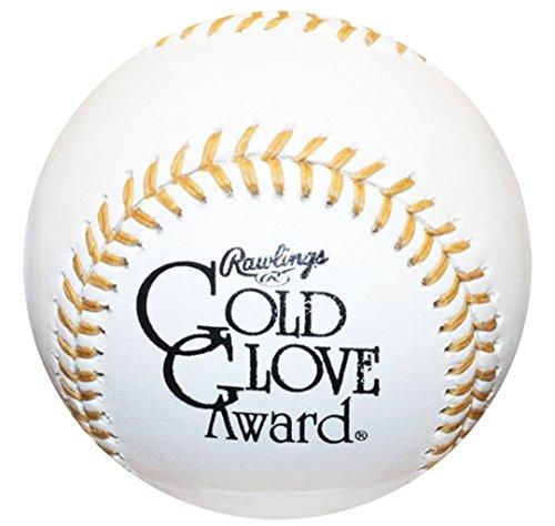 - (6) Rawlings Official MLB Gold Glove Award Commemorative Baseball Boxed - 1/2 Dozen