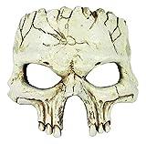 Forum Novelties Unisex-Adult's Half Mask-Foam Skull, Multi, Standard