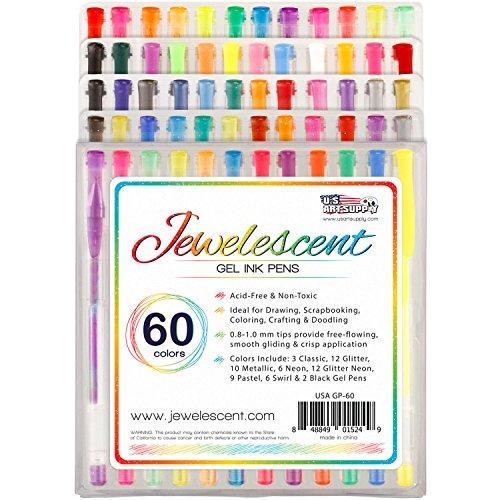 US Art Supply Jewelescent Colors