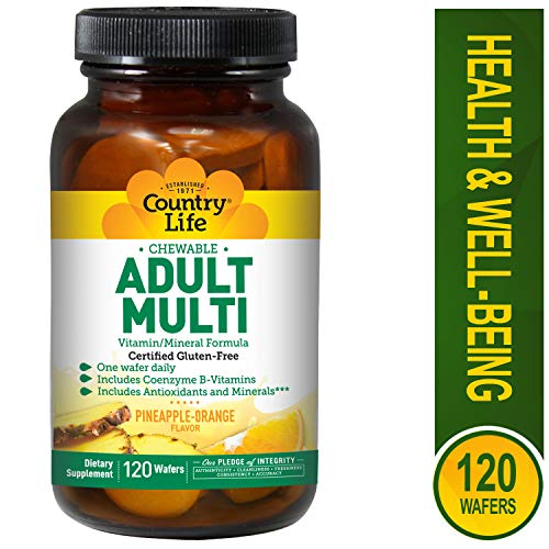 Amazon.com: País vida adulto Multi chewables, 015794080312 ...