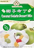 Coconut Gelatin Dessert Mix (Thach Sua Dua Dessert) - 4.35oz [Pack of 3]