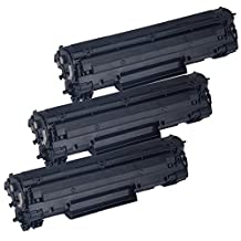 3 Inkfirst® Toner Cartridges 137 (9435B001AA) Compatible Remanufactured for Canon 137 Black