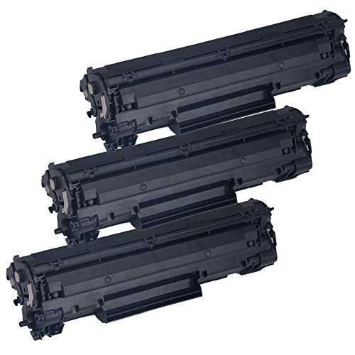 3 Inkfirst Toner Cartridges 137 (9435B001AA) Compatible Remanufactured for Canon 137 Black ImageClass MF244dw MF247dw MF249dw D570 LBP151dw MF212w MF216n MF217w MF227dw MF229dw MF232w MF236N