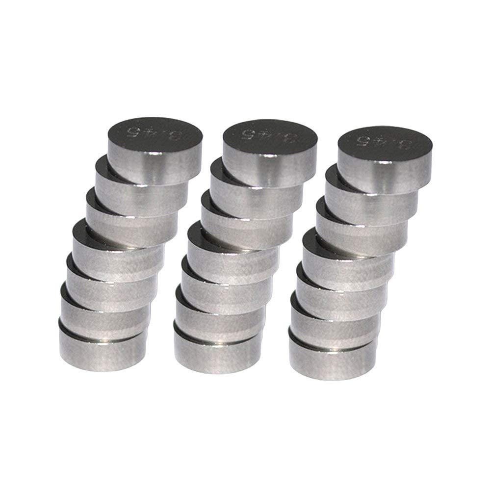 7.48mm 47pcs 1.20mm-3.50mm Ventileinstellpl/ättchen Ventil Shim Ventile einstellen f/ür CBR1000RR 2004-2008 AHL Durchmesser