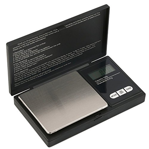 Precision Digital Scales,100g 0.01g Protable Weighing Scales with LCD Display,Stainless Steel Weight Platform for Kitchen Cooking,Coffee,Jewellery