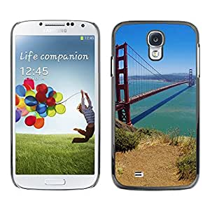 Impact Case Cover with Art Pattern Designs FOR Samsung Galaxy S4 San Francisco Bridge Betty shop