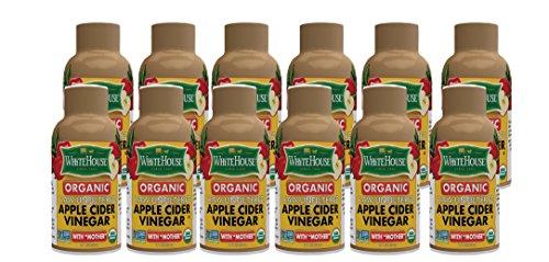 ((12 bottles / 2oz ) White House Organic Apple Cider Vinegar ON-THE-GO)