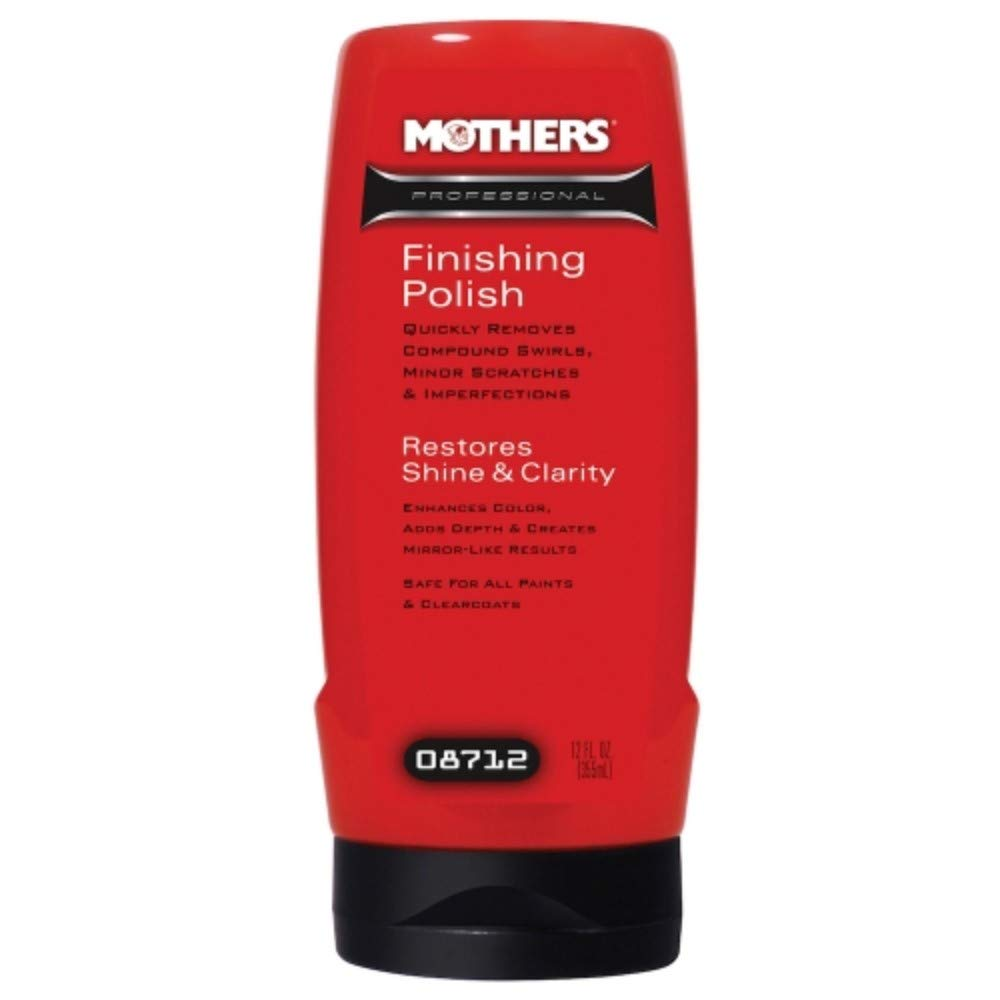 Mothers 08712 Professional Finishing Polish, 12-Ounce
